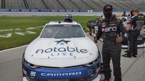 Carrollton native Jesse Iwuji is part of NASCAR's push to get more minority drivers in the sport
