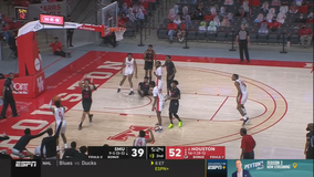 Sasser, No. 6 Houston beat SMU 70-48 for 8th straight win