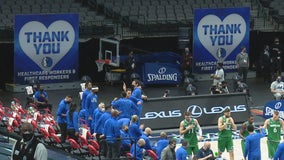 Dallas Mavericks selecting vaccinated essential workers to attend games for free