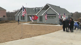 North Texas Army veteran and his family move into mortgage-free smart home