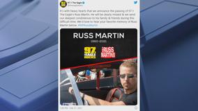 Radio host Russ Martin found dead in his Frisco home