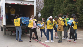 Organizations from across the country helping North Texans in need after last week's winter storm