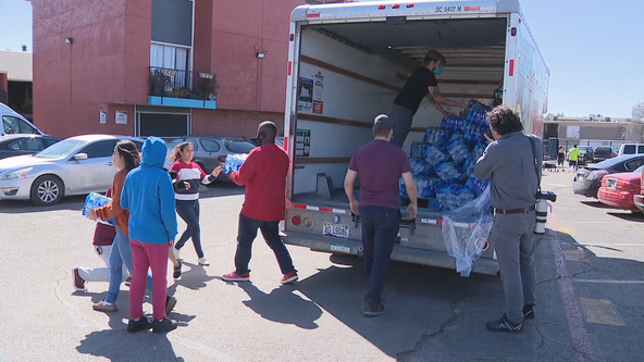 Northeast Dallas community learning center to distribute water and supplies