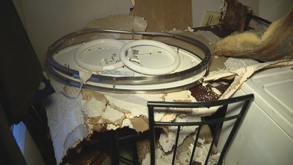 Arlington residents in water-damaged apartments unable to move out
