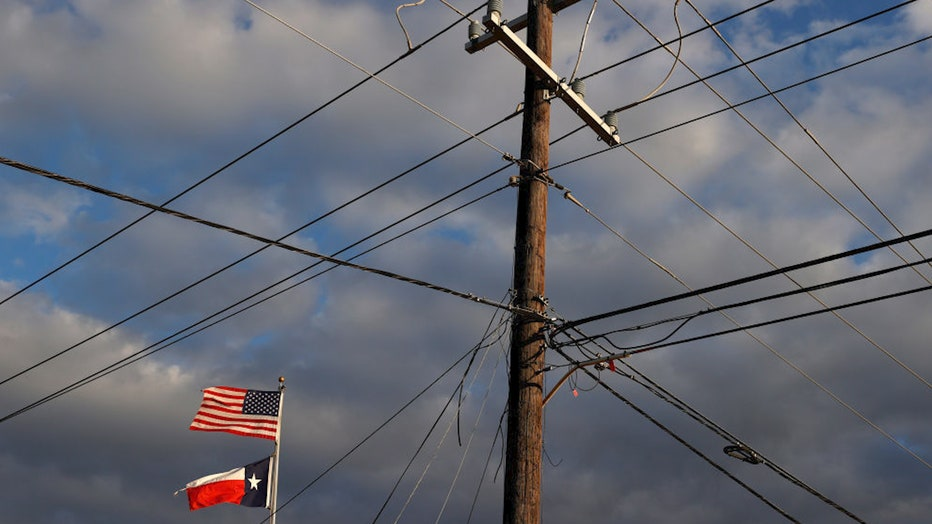Texas power lines