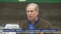 Gov. Abbott expected to make an announcement Monday regarding COVID-19 restrictions