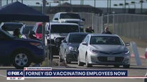 Forney ISD vaccinating its employees