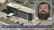 Report: Carrollton Amber Alert suspect threatened to shoot up Omni Hotel before his capture