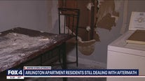 Arlington apartment residents still dealing with storm aftermath