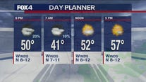March 1 evening forecast