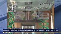 Newly renovated Hall of State damaged by winter storm