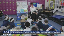 Fort Worth ISD kicks off pre-k and kindergarten campaign