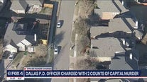 Dallas PD officer charged with 2 counts of capital murder