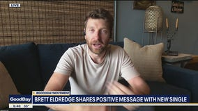 Country singer Brett Eldredge shares positive message with new single