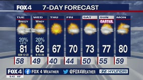 March 29 overnight forecast