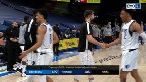Doncic scores 25; Mavericks roll past Thunder 127-106