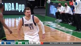 Doncic's scores 36, leads Mavericks past Celtics 113-108