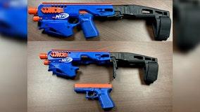 North Carolina police seize Glock pistol disguised as Nerf gun during drug raid