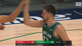 Doncic, Mavs answer, split set with Clippers in 105-89 win
