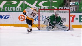 Preds finish long trip with another 4-3 SO win over Stars