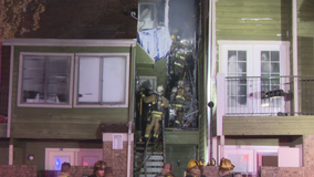 Fire damages condo building under construction because of a previous fire