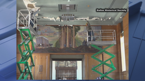 Newly renovated Hall of State at Fair Park damaged by winter storm