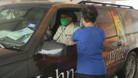 John Wiley Price gets COVID-19 vaccine, hopes to encourage others