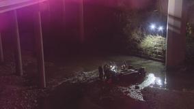 Crash leaves woman dead in Lancaster