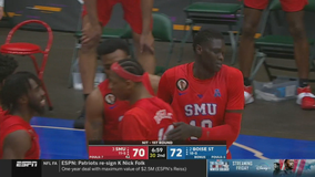 Boise State edges SMU 85-84 in NIT opener