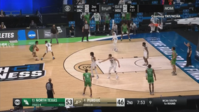 Villanova hits 15 3s to knock off upstart North Texas 84-61