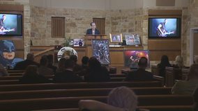 Radio personality Russ Martin remembered at funeral