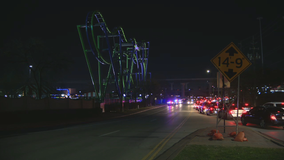 Teen arrested after fight outside Six Flags in Arlington led to one person being shot