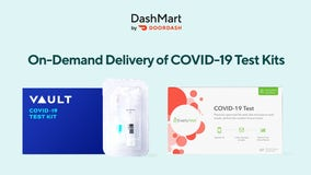 DoorDash now delivers at-home COVID-19 test kits in several US cities