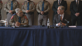 Gov. Abbott wants DPS to investigate if children crossing the border are victims of human trafficking
