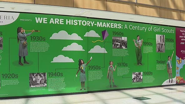 Girl Scout history exhibit opens at Galleria Dallas