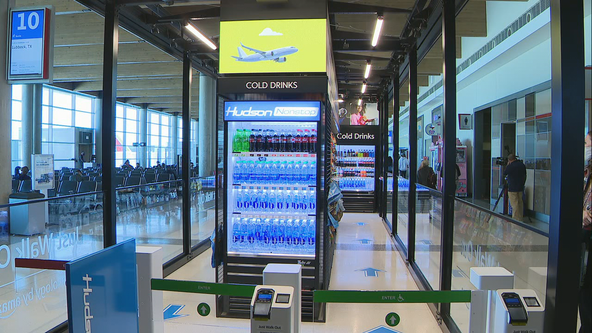 Cashier-less store opens at Dallas Love Field