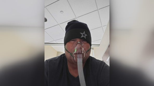 North Texas man still dealing with lung damage one year after contracting COVID-19