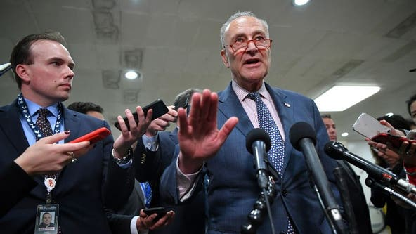 Dems drop jobless benefits, Senate debates pandemic relief package