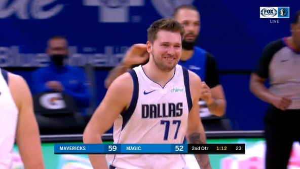 Doncic scores 33, leads Mavericks past Magic 130-124