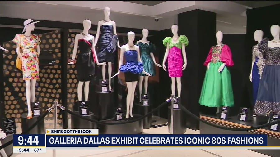 Iconic 80s fashion on display at Galleria Dallas