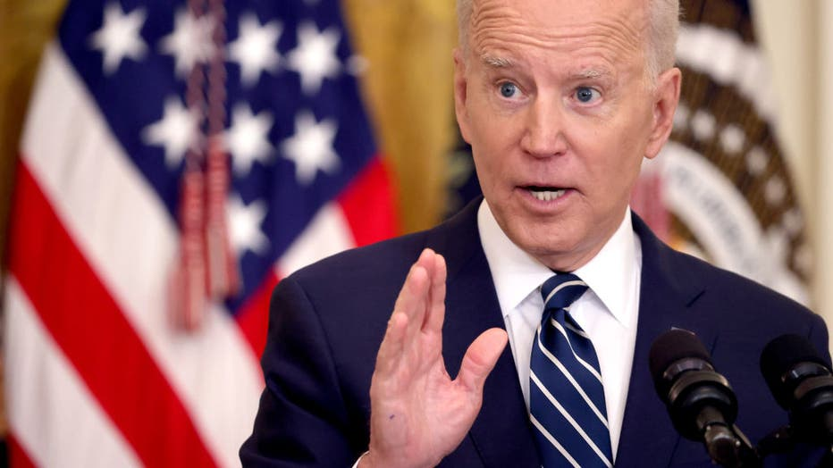5fca587d-Joe Biden Holds First Press Conference As President