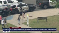 Irving's MacArthur High School on lockdown after threat of student with gun
