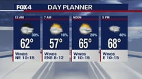 April 14 overnight forecast.