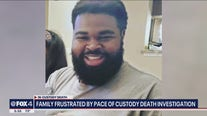 Family of man who died at Collin County jail meets with district attorney's office