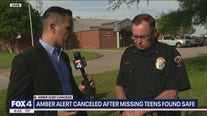 Two teens at center of Amber Alert found safe in Plano