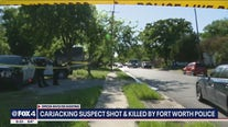 Fort Worth PD: Officer fatally shot carjacking suspect who pointed gun at officer
