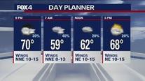 April 13 evening forecast