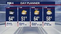 April 19 evening forecast