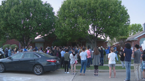 Family, friends hold candlelight vigil for Allen family killed in murder-suicide