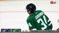 Gurianov has 2 goals for Stars in 4-1 win over Blue Jackets